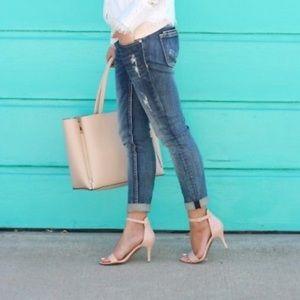 Shoes - BP Luminate Nude Heels